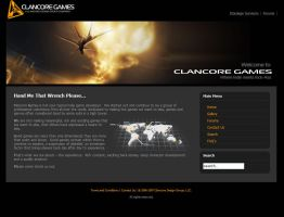 Clancore Games Web Site by GlennClovis