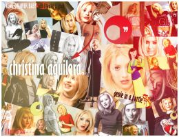 Christina Aguilera Album Collage by krlozaguilera