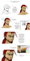 Colouring tutorial... thing. by Waspino