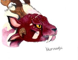 Charr Headshot by PrismaDox