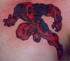Deadpool Tattoo by ShannonRitchie