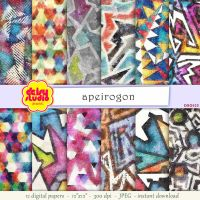Tribal Digital Paper Pack dsg025 by daisyanderson