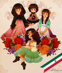 Lady Mexico by FlopyLopez