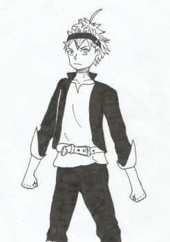 Asta fan art by magic-shield-manga