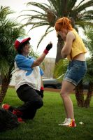 Ash Proposes to Misty by moonymonster