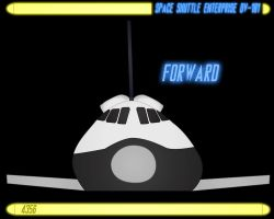 spaceShuttle Enterprise OV101p3 by CaptainBarringer