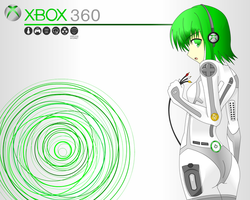 Xbox 360 persocon by 1Razor1