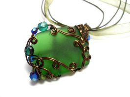 Shadowsea Pendant no. 9 by sojourncuriosities