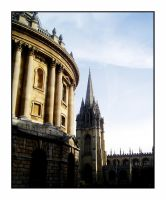 The Church from the Bodleian by AlexJHH