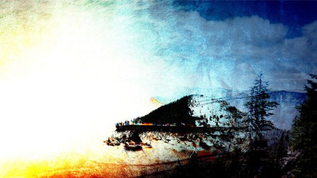 Crater Lake Edited by zaron5551