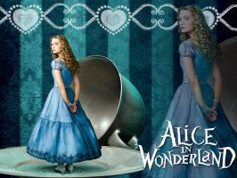 Alice Wallpaper by Jackolyn