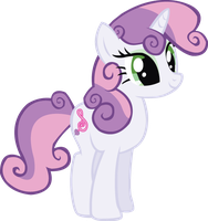 Harmony Crusaders: Sweetie Belle by schwarzekatze4