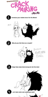 Crack Pairing Meme! SCP edition by parenthesisgrey