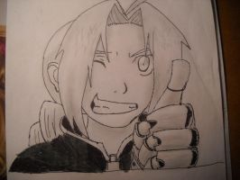 FMA EDWARD ELRIC by Tmntfan13