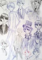 George Harrison drawings by Zuza182