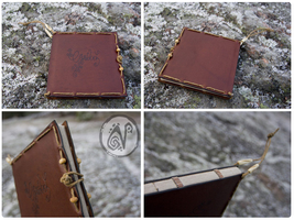 Leather Guestbook by Nymla