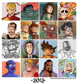 Look back on 2012 by cool-slayer