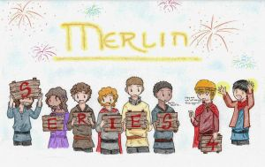 Merlin - Series 4 by quinmari