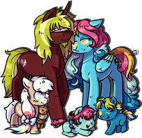 Commission - Family by Reporter-Derpy