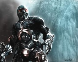 Crysis -speedpaint by Krivio