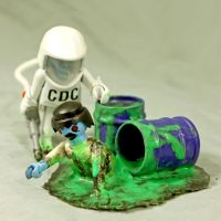Z.A.P. 2 Day 2 C.D.C.harlie and Melting Marvin by zombiemonkie