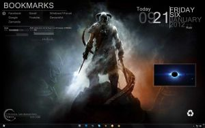 Skyrim Desktop - 6 January 2012 by UltimatteHD