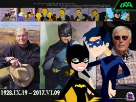 Tribute To A Classic Caped Crusader by daanton