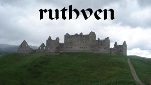 ruthven castle by shaggly