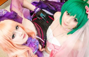 Macross Frontier - Duo by Firiless