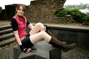 Claire Redfield - The World Before Z-Day by SoraPilzi