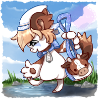 DTA Bagbean Entry - #364 Cow by Candi-Kii