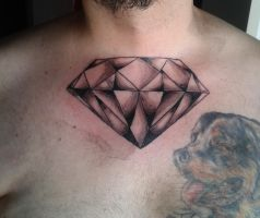 Diamond Tattoo by flaviudraghis
