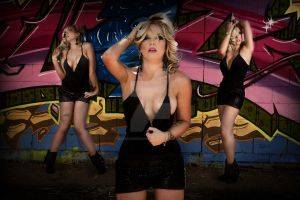 Laura's Graffiti Shoot by madmaddiesmakeup