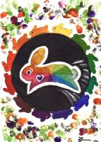 Bunny Color Wheel by DupleSnowflake