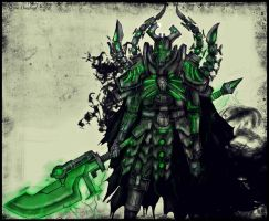 Necron Overlord by Taurus-ChaosLord