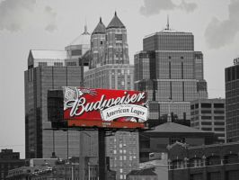 Bud and a Cloudy Day by krissybdesigns