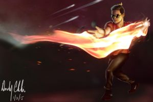Young Firelord by andychhi