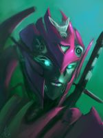Movie-verse Arcee by Raikoh-illust