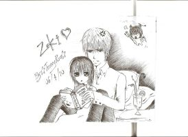 Zeki pairingsXD Vampire Knight by TennyRou