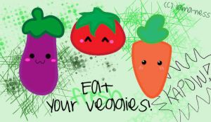 Eat Your Vegetables by llama-ness