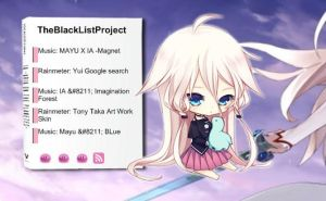 Rainmeter: Vocaloid IA RSS by milkkybunny