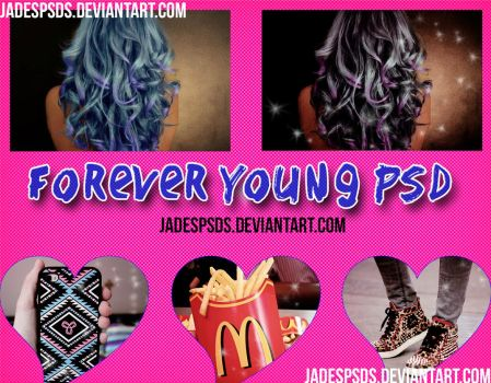 Forever Young PSD by JadesPSDs