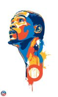 Kevin Durant by SirTigre