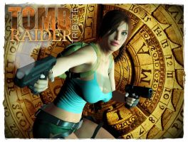 Lara Croft. The Wheel of Eternity by BL65