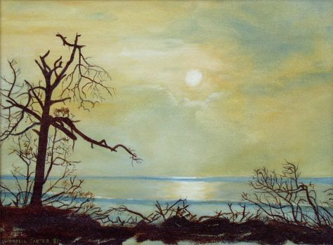 Little Talbot Island  - Oil On Canvas by WordellCarter