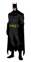 DC New 52:Batman Animated by kyomusha