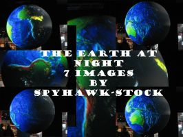 The Earth at Night Pack by SpyHawk-Stock