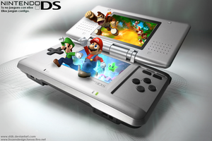 Nintendo DS Lp Art by SFDK