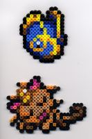 Mystery Dungeon Perler Beads by BlueKecleon15