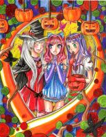 HAPPY HALLOWEEN by manga-drawing-luver